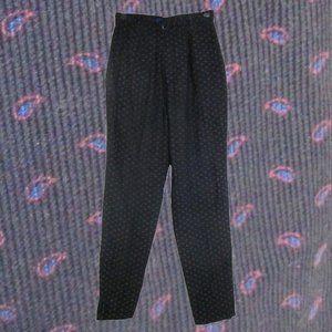 1980s vintage paisley corduroy pants size xs 2